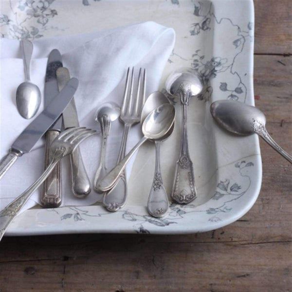 Simply Beautiful French Flatware Set Of 8 - elsie green