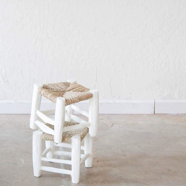Very Small Moroccan Stool - elsie green
