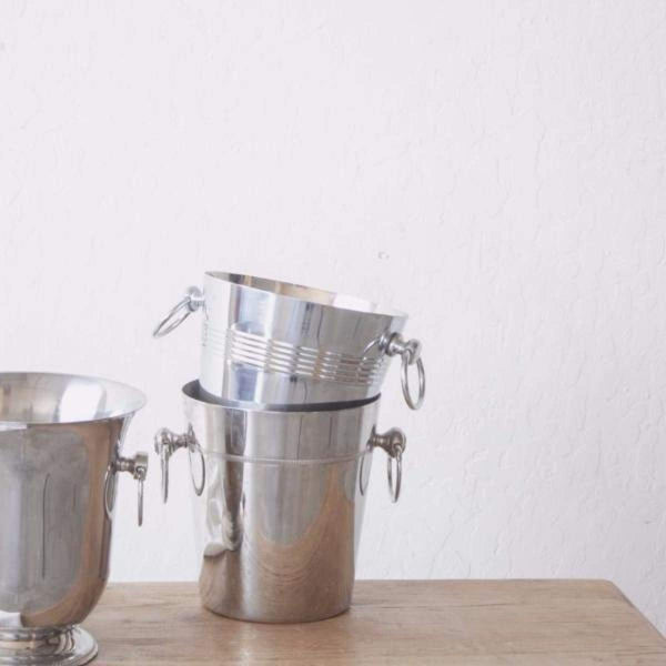 Stainless Champagne Bucket - elsie green