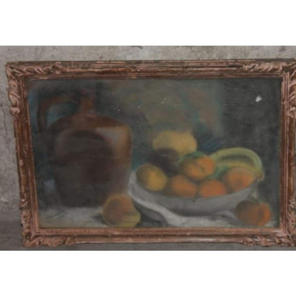 Still Life with Apricots Oil Painting