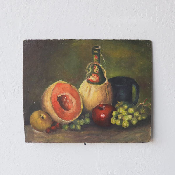 Still Life with Fruit Oil Painting - decor
