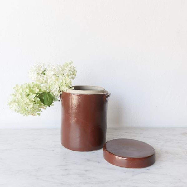Copy of Stoneware Crock with Lid - the french kitchen