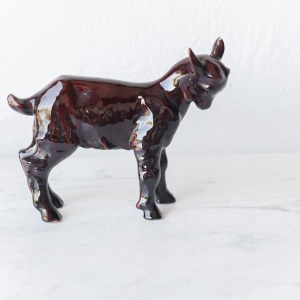 Stoneware Goat Figure - Decor