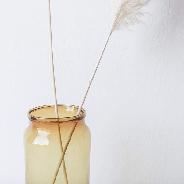 Amber Blown Glass Pickling Jar - decor