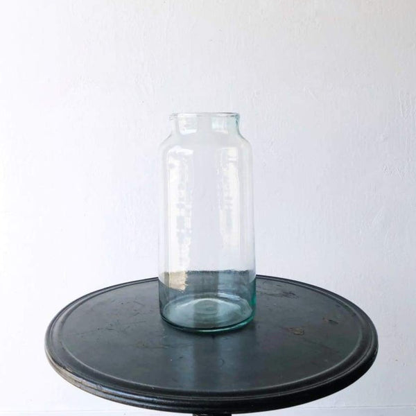 Tall Blown Glass Pickling Jar - decor