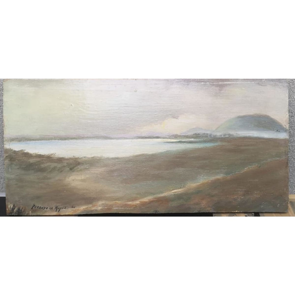 The Path by the Sea Oil Painting