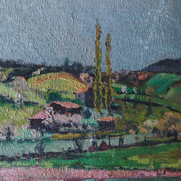 The Valley in Spring Oil Painting - decor