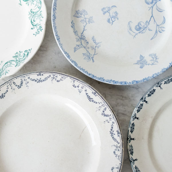 Transferware Round Platter - The French Kitchen