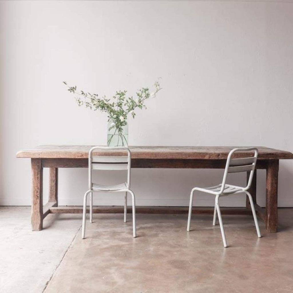 Very Rustic Farm Table - Furniture