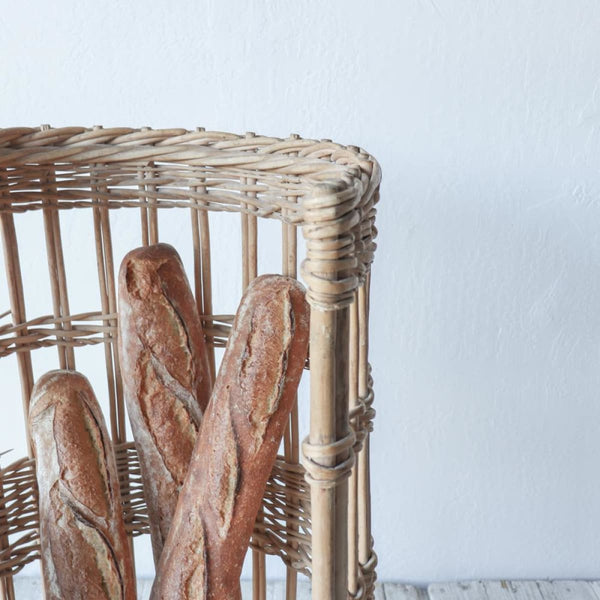 Vintage Baguette Basket - Decor