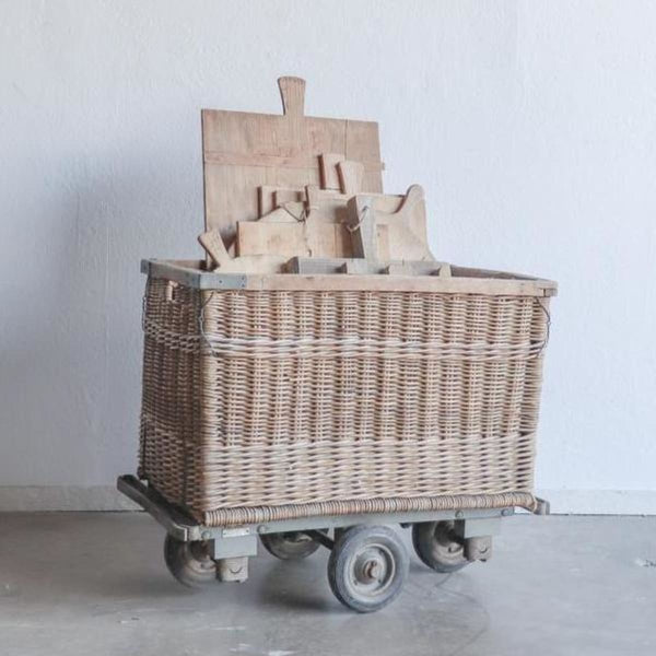 Vintage Baguette Trolley - Decor