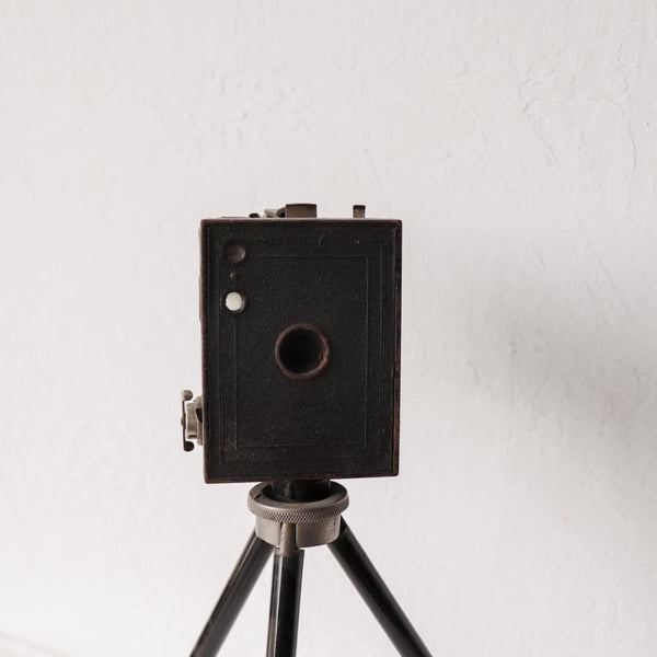 Vintage Camera with Tripod - Décor