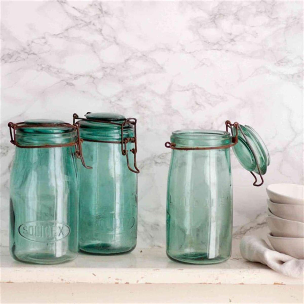 Vintage Canning Jar - elsie green