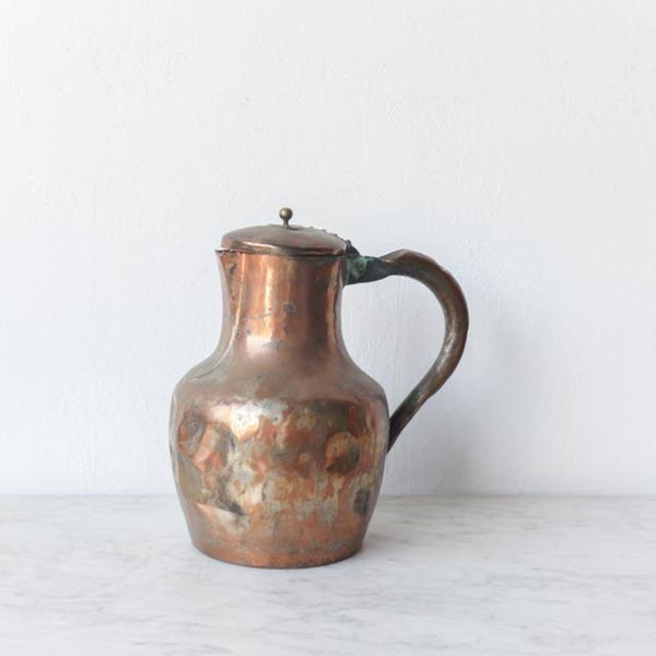 Vintage Copper Coffee Pot - the french kitchen