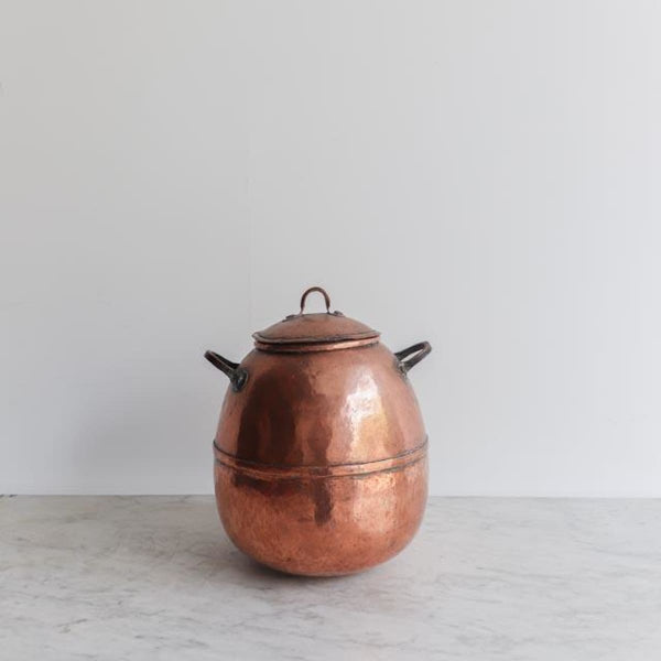 Vintage Copper Kettle - The French Kitchen