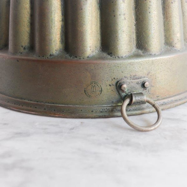 Vintage Copper Mold - The French kitchen