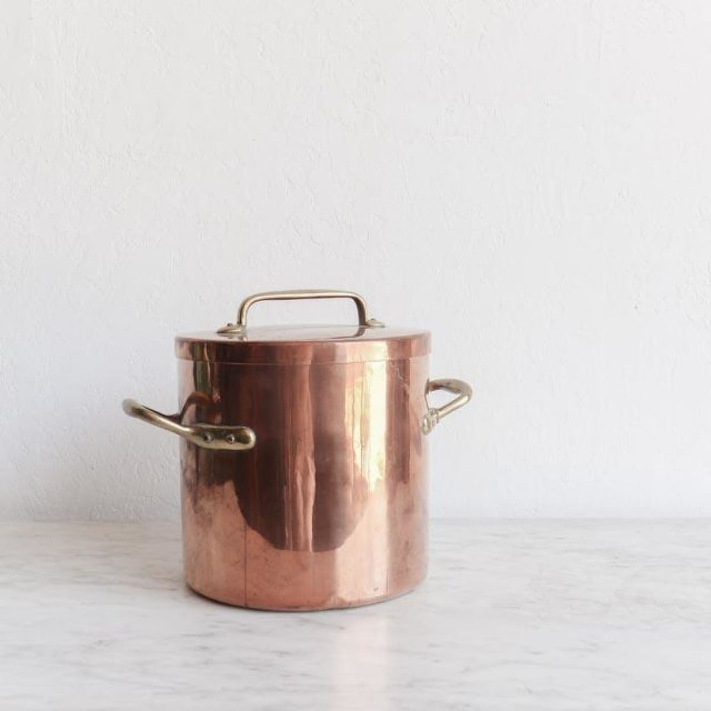Vintage Copper Stockpot - TH218