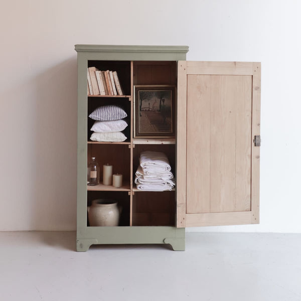 Vintage Cubby Armoire - furniture