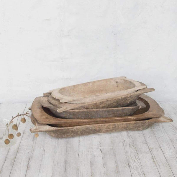 Vintage Dough Trough - elsie green