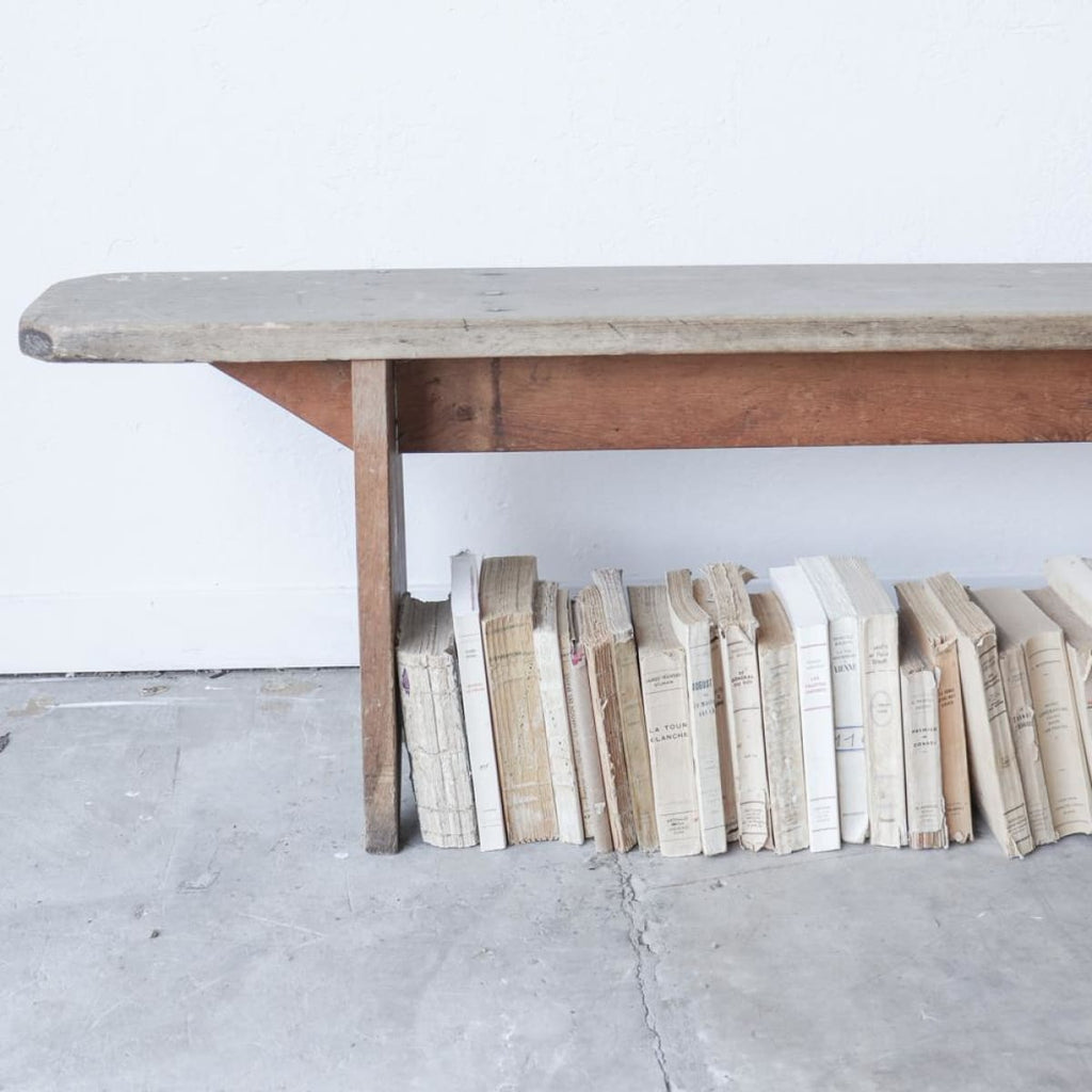 Vintage Farm Bench - furniture