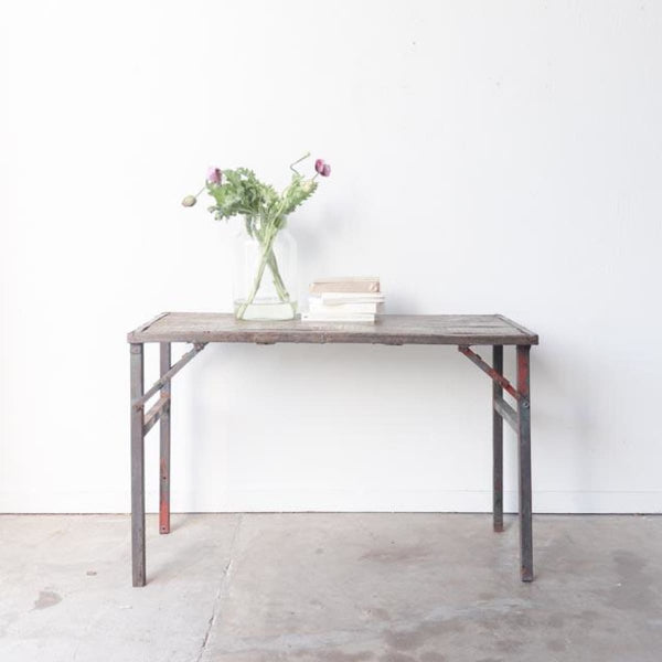 Vintage Folding Console - Furniture