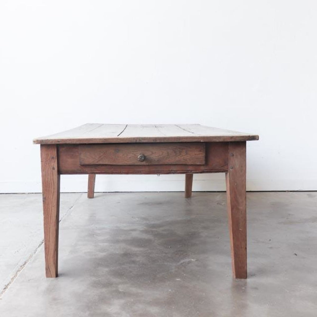 Vintage French Farm Coffee Table - Furniture
