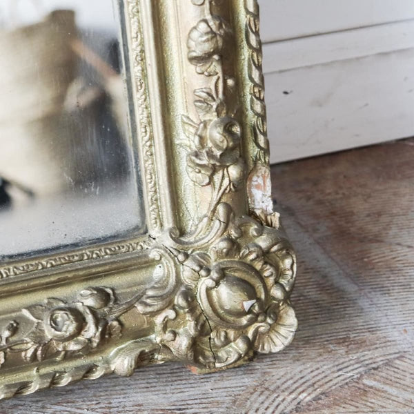Vintage Gilded Mirror - Decor