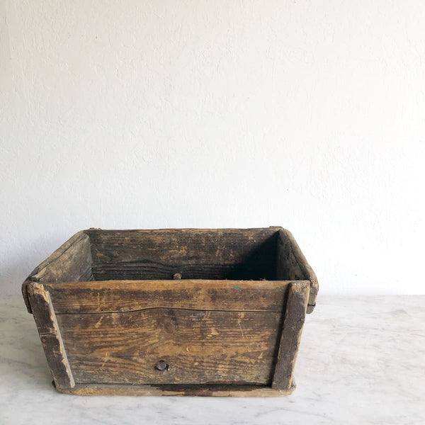 Vintage Harvest Crate - Decor