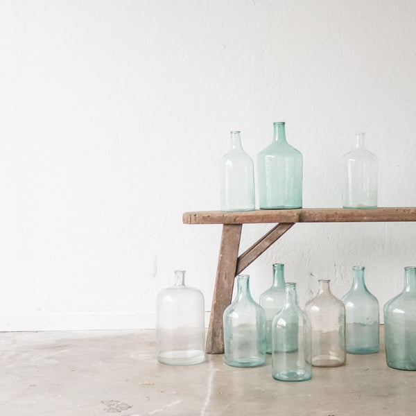 Vintage Oil Bottle - Decor