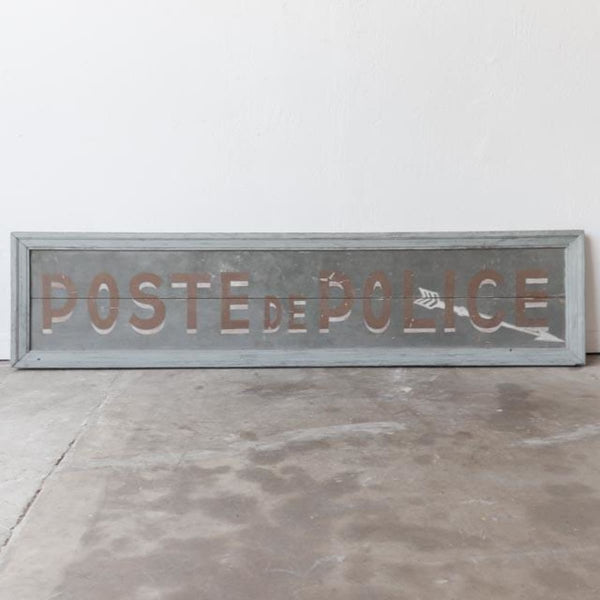 Vintage Painted Sign - Decor