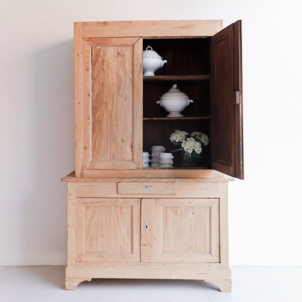Vintage Pine Armoire - furniture