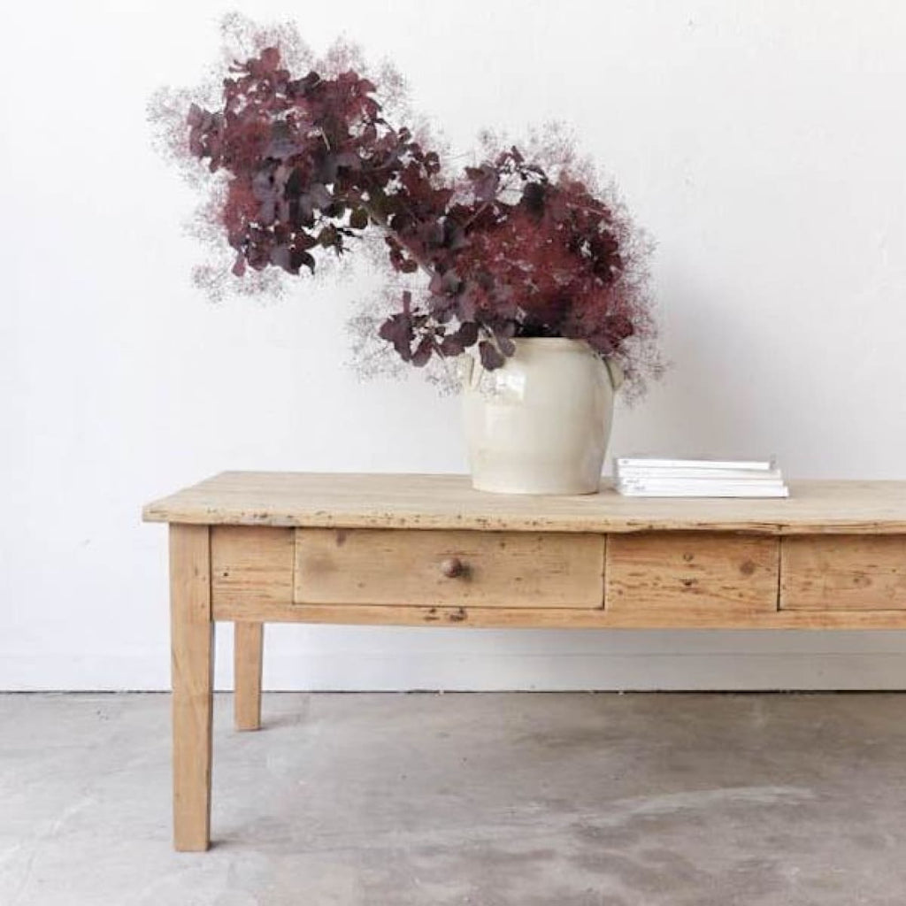 Vintage Pine Coffee Table - furniture