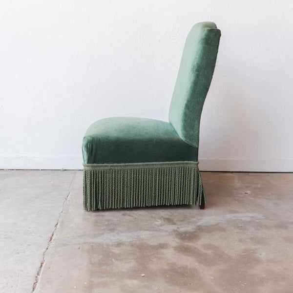 Vintage Slipper Chair - Furniture