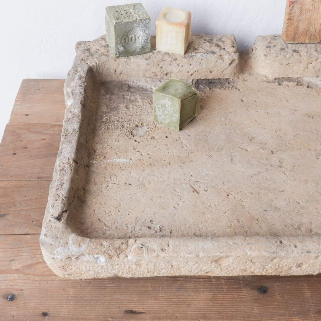 Vintage Stone Sink - furniture