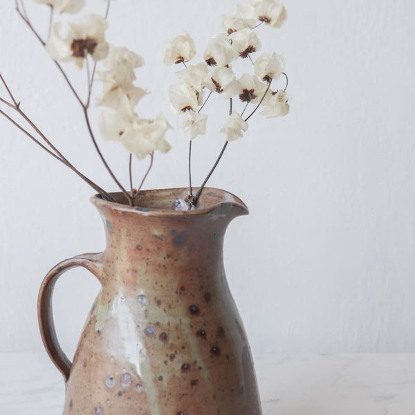 Vintage Stoneware Pitcher - The French Kitchen