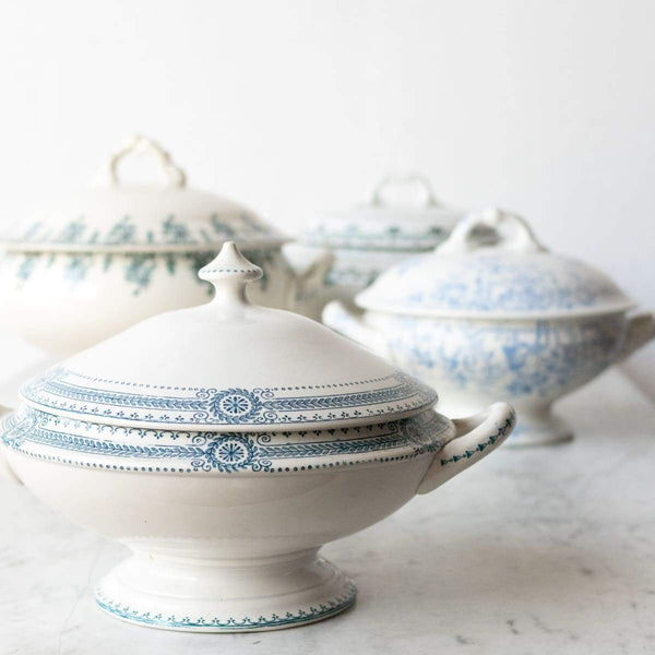 Vintage Transferware Tureen - the french kitchen