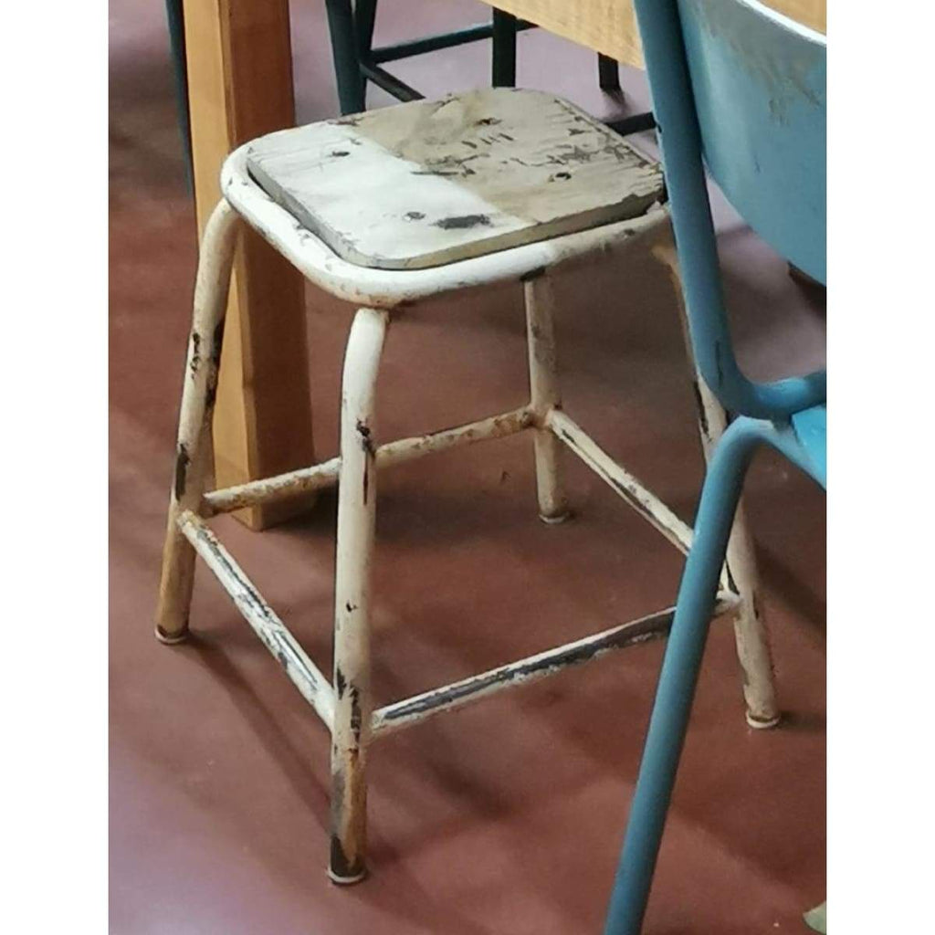 Vintage Workshop Stool