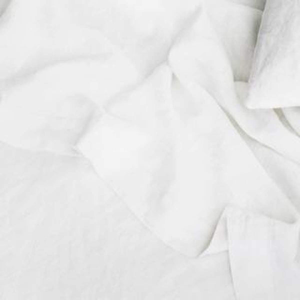 Washed Linen Sheet Set - elsie green