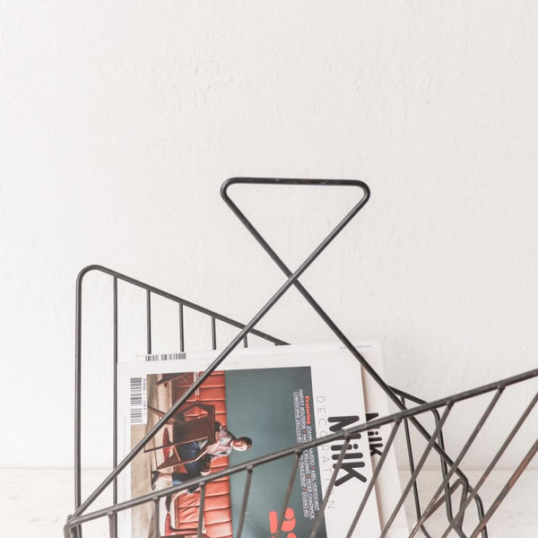 Wire Magazine Stand - Decor