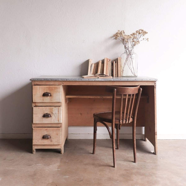 Zinc Top Desk - furniture