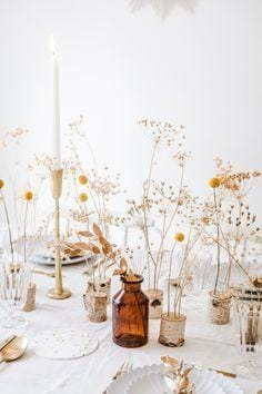 Fête en Blanc | Inspiration for Your All White Table