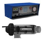 Titanium Edition Ti2500 Salt Water Chlorinator | 60-100,000 Litre | Battery Back Up