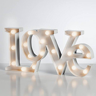 LOVE Marquee Sign (19-3/4