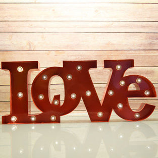 LOVE Marquee Letters (20 in. long)