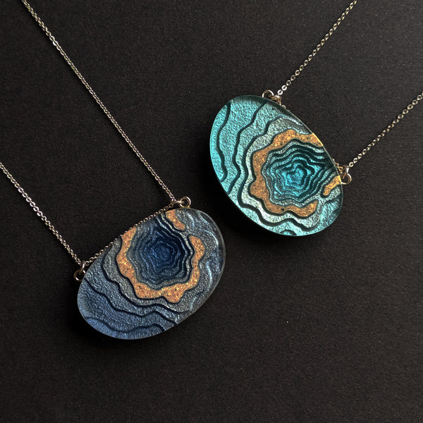 Aqua - Atoll Necklace