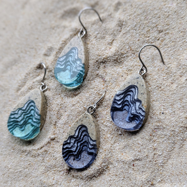 Aqua - Seashore Earrings