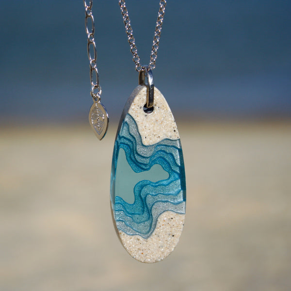 Aqua - Fjord Necklace
