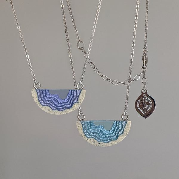 Aqua - Inlet Necklace