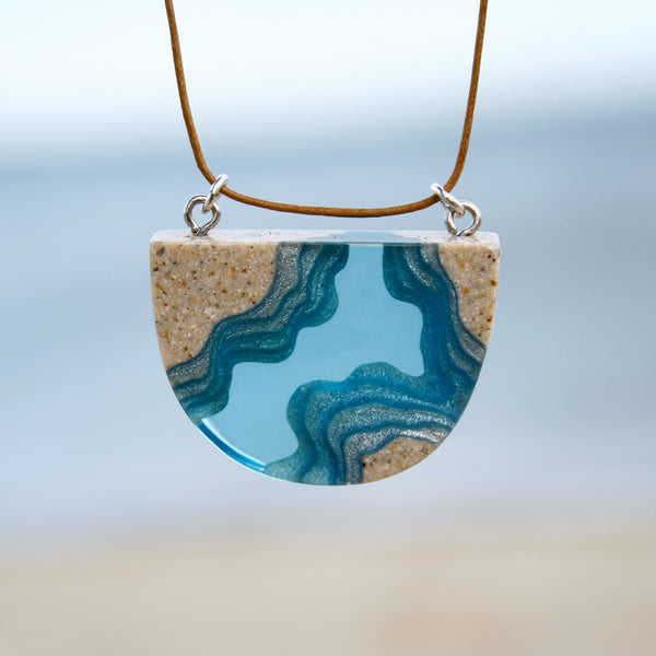 Aqua - Waterways Necklace