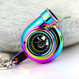 Neo-Chrome Turbo Keychain